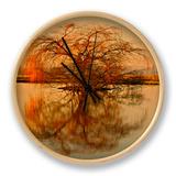 Goldener Baum Uhr von Philippe Sainte-Laudy