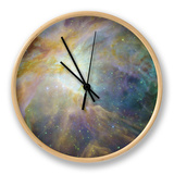 Spitzer and Hubble Create Colorful Masterpiece Space Photo Horloge