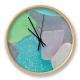 Close-Up of Colorful Beach Glass, Washington, USA Ur af  Jaynes Gallery