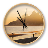 Ipanema Beach Clock by Micah Wright