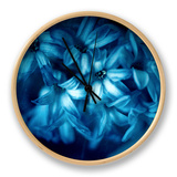Blue Hyacinth Clock by Philippe Sainte-Laudy