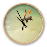 La grande évasion - Wallace et Gromit Horloge par Janine Graf