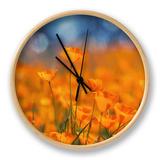 Golden Riverside Poppies (Square), Merced River Canyon Ur af Vincent James
