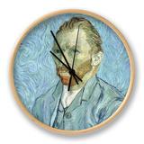 Self Portrait, 1889 Klok van Vincent van Gogh