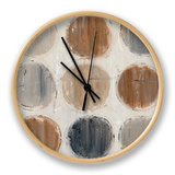 Abstract Balance VIII Clock by Lisa Audit