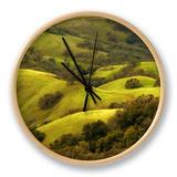 Diablo Winter Hills Clock by Vincent James