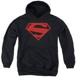 Youth Hoodie: Superman - 52 Red Block Pullover Hoodie