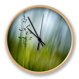 Morning Grass Horloge par Ursula Abresch