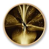 Lily Landscape Clock by Irene Suchocki