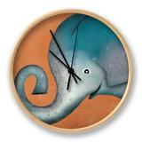 Elephant Wow Clock by Ryan Fowler