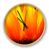 Sunflower Clock by Nadia Isakova