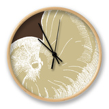 Natural Shell II Clock by N. Harbick