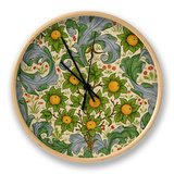 Orchard, Dearle, 1899 Clock by William Morris