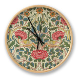 Rose, 1883 Clock by William Morris
