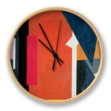 Painterly Architectonics, 1916-17 Clock by Liubov Sergeevna Popova