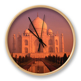 Taj Mahal Glows at Sunrise, Agra, Uttar Pradesh, India Ur af Dallas Stribley