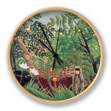Eksoottinen maisema, 1910 Kello tekijänä Henri Rousseau