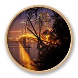 Bay Bridge, A Night on the Town, San Francisco Clock by Vincent James