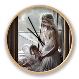 Jour De Pluie Horloge par Florence Menu