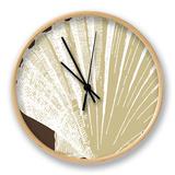 Natural Shell IV Clock by N. Harbick