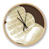 Natural Shell III Clock by N. Harbick