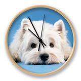 West Highland White Terrier Clock by  Steimer