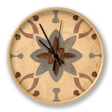 Andalucia Tiles D Color Clock by Silvia Vassileva