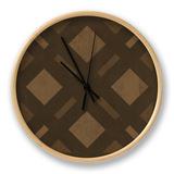 Pattern IV Clock by N. Harbick
