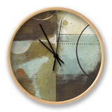 April Showers II Clock by Mo Mullan