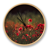 Meadow with Poppies 5 Clock by Ursula Kuprat