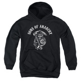 Youth Hoodie: Sons Of Anarchy - Soa Reaper Pullover Hoodie