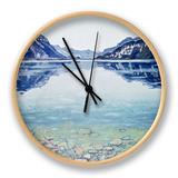 Thunersee Von Leissigen Clock by Ferdinand Hodler