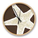 Natural Shell I Clock by N. Harbick