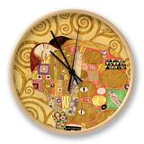 Erfüllung Uhr von Gustav Klimt