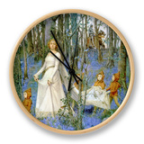 The Fairy Wood Clock by Henry Meynell Rheam