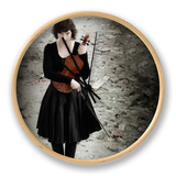 Violinist II Ur af Eugenia Kyriakopoulou
