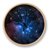 Pleiades, also known as the Seven Sisters Horloge par  Stocktrek Images