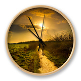 Evening Path Clock by Adrian Campfield
