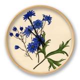 Dianthus caryophyllus: Gardenia jasminoides Clock by Caroline Maria Applebee