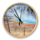 Visit The Grand Prismatic, Yellowstone Clock by Vincent James