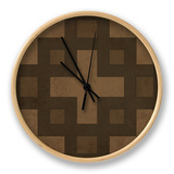 Pattern II Clock by N. Harbick