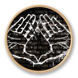 Illuminati Hand Sign Graffiti Ur