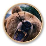 Grizzly Bear (Ursus Arctos), Denali National Park & Preserve, Alaska, USA Clock by Mark Newman