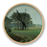 Midday, 1820-25 Clock by Caspar David Friedrich