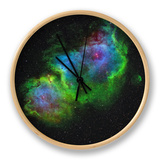 The Soul Nebula Clock by  Stocktrek Images