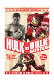 The Avengers: Age of Ultron - Hulk and Hulkbuster Battle Poster Posters