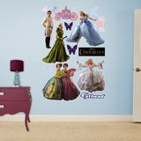 Cinderella Movie Collection Wall Decal