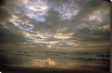 Sky Reflections Stretched Canvas Print by Tony Koukos