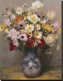 Fleurs I Stretched Canvas Print by Marcel Dyf