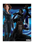 The Avengers: Age of Ultron - Black Widow Art